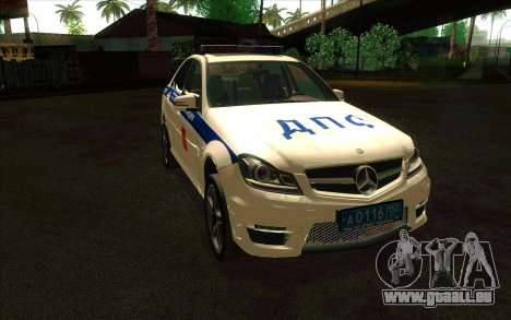 Mercedes-Benz C63 AMG ДПС pour GTA San Andreas
