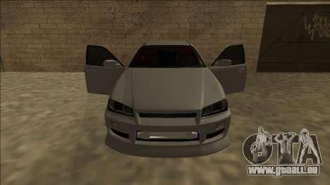 Nissan Skyline ER34 Drift für GTA San Andreas Innenansicht