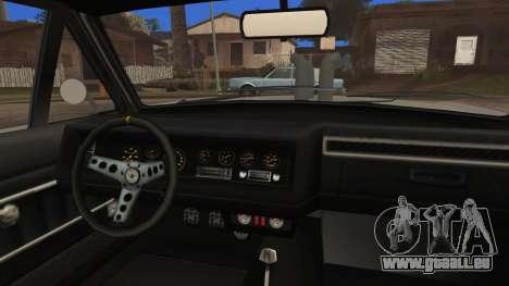 Blade Custom pour GTA San Andreas vue de droite