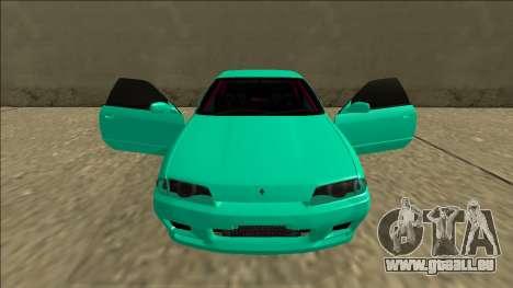Nissan Skyline R32 für GTA San Andreas Innen