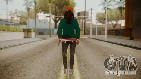 Home Girl Cat für GTA San Andreas dritten Screenshot