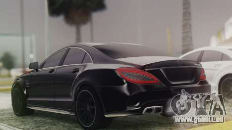 Mercedes-Benz CLS 63 AMG W218 für GTA San Andreas linke Ansicht