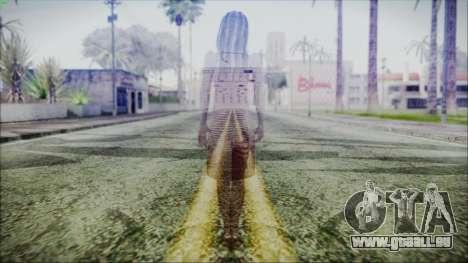 Ghost of Kayako Saeki pour GTA San Andreas troisième écran