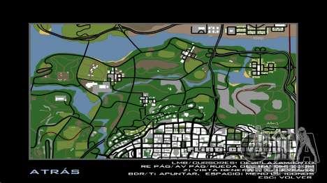HD Radar Anzeigen für GTA San Andreas fünften Screenshot