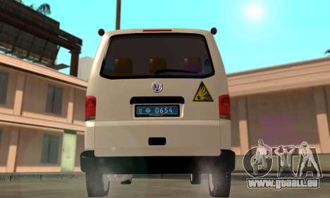 Volkswagen Transporter Minesweeper Ukraine für GTA San Andreas rechten Ansicht
