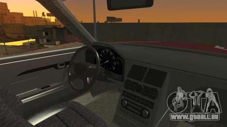 Sentinel PFR HD v1.0 pour GTA San Andreas vue intérieure