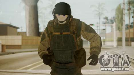 Spetsnaz Operator - 2010s für GTA San Andreas dritten Screenshot