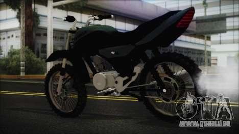 Zanella RX150 Cross pour GTA San Andreas laissé vue