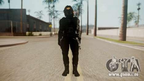 The Winter Soldier pour GTA San Andreas deuxième écran
