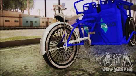 Bici Colgas für GTA San Andreas zurück linke Ansicht