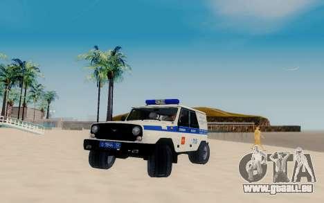 UAZ Hunter SPSP für GTA San Andreas
