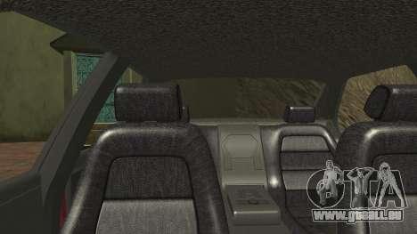 Sentinel PFR HD v1.0 pour GTA San Andreas vue de côté
