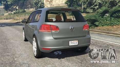 Volkswagen Golf Mk6 v2.0 für GTA 5