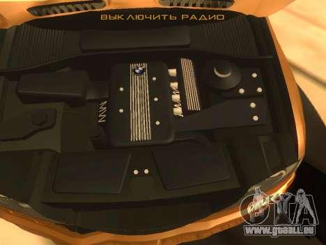 BMW X5 für GTA San Andreas Rückansicht