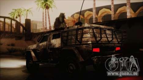 Joint Light Tactical Vehicle pour GTA San Andreas sur la vue arrière gauche