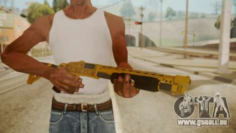GTA 5 Pump Shotgun pour GTA San Andreas troisième écran