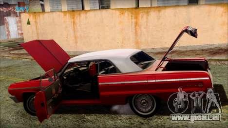 Chevrolet Impala SS 1964 Final pour GTA San Andreas roue