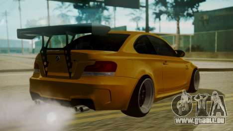 BMW 1M E82 without Sunroof für GTA San Andreas linke Ansicht