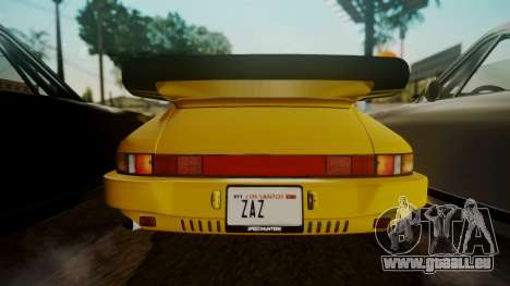 RUF CTR Yellowbird (911) 1987 HQLM für GTA San Andreas Rückansicht