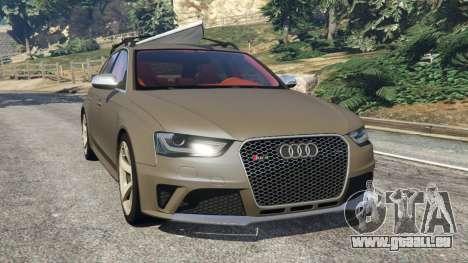 Audi RS4 Avant 2013 pour GTA 5