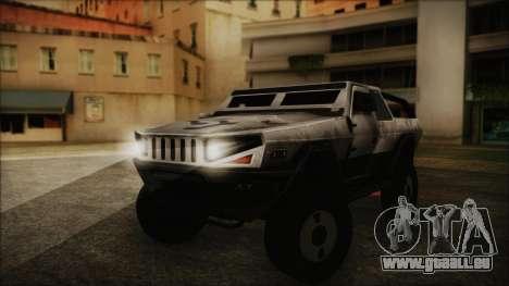 Hummer H2 C.E.L.L. Crysis 2 pour GTA San Andreas