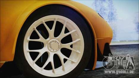 Ford GT-R mk.7 pour GTA San Andreas sur la vue arrière gauche