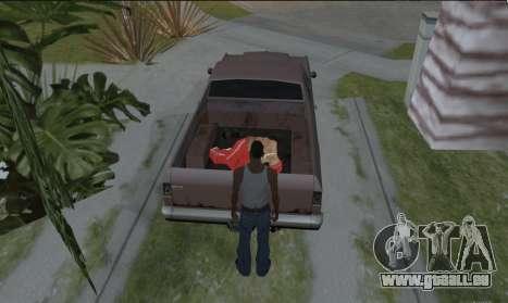 Tragen die Leiche für GTA San Andreas dritten Screenshot