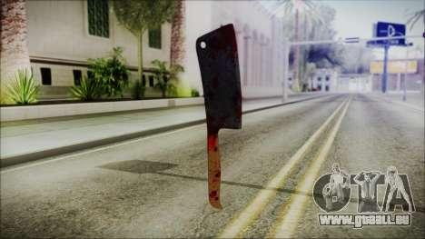 Helloween Butcher Knife Square pour GTA San Andreas deuxième écran