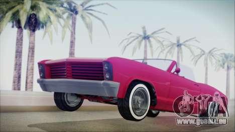GTA 5 Albany Buccaneer Custom IVF für GTA San Andreas
