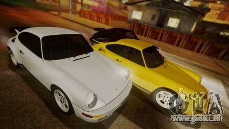 RUF CTR Yellowbird (911) 1987 HQLM für GTA San Andreas linke Ansicht