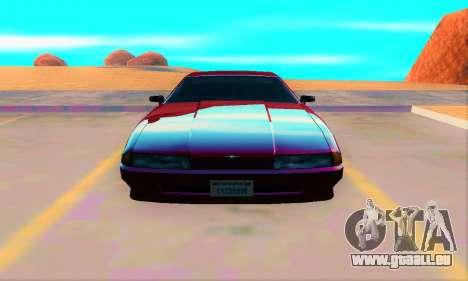 Elegy From Life pour GTA San Andreas vue arrière