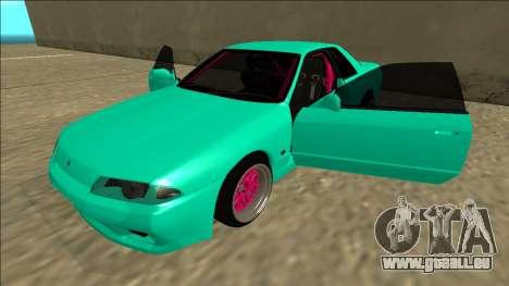Nissan Skyline R32 für GTA San Andreas Unteransicht