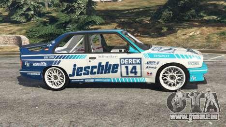 GTA 5 BMW M3 (E30) 1991 [Jeschke] v1.2 linke Seitenansicht