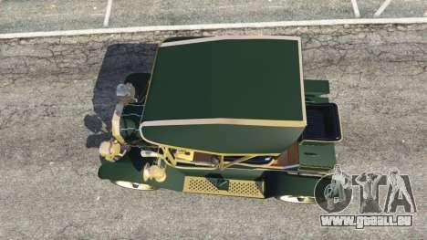 GTA 5 Ford Model T [one color] vue arrière