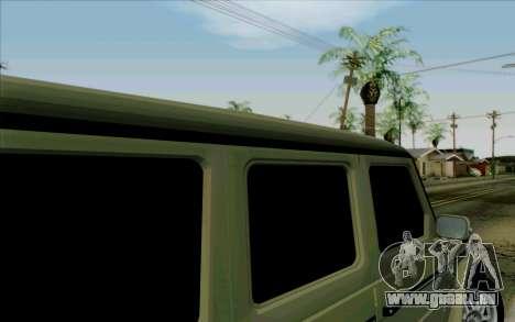 Mercedes-Benz G500 1999 pour GTA San Andreas vue de côté