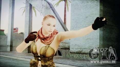Mila Short Hair from Counter Strike v2 für GTA San Andreas