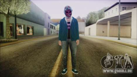DLC Halloween GTA 5 ZombieCraneo pour GTA San Andreas deuxième écran
