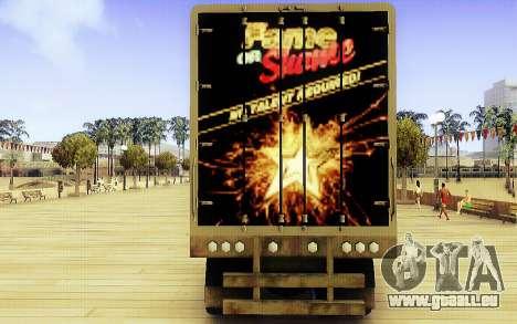 GTA V Ruhm oder Schande Trailer für GTA San Andreas zurück linke Ansicht