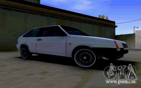 VAZ 2108 V2 für GTA San Andreas linke Ansicht