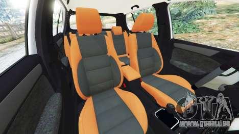 Volkswagen Golf Mk6 v2.0 [WRC Polo] für GTA 5