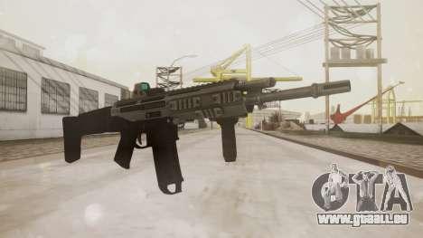 Bushmaster ACR Silver pour GTA San Andreas