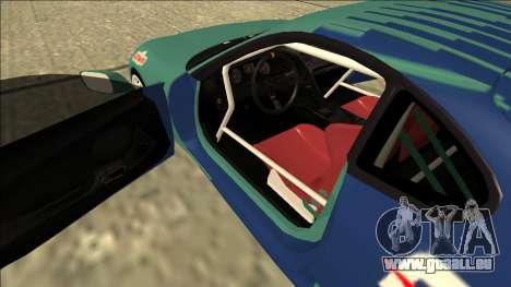 Toyota Supra Falken Drift für GTA San Andreas Innenansicht