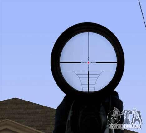 Sniper Scope v2 für GTA San Andreas siebten Screenshot