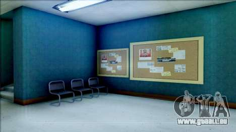 New Interior for SFPD für GTA San Andreas achten Screenshot