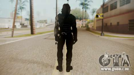 The Winter Soldier pour GTA San Andreas troisième écran