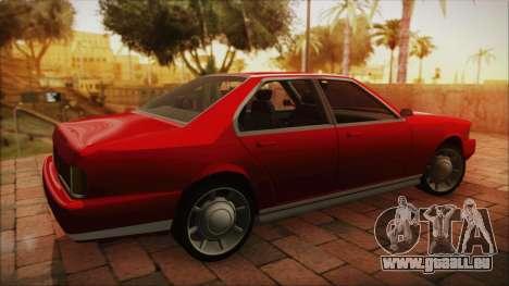 Sentinel PFR HD v1.0 pour GTA San Andreas laissé vue