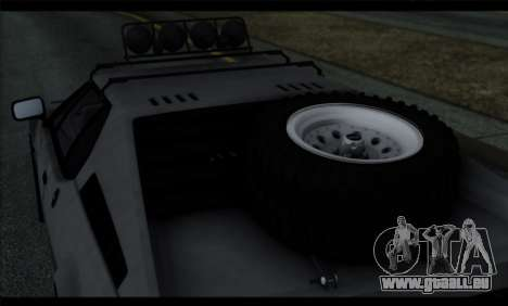 BMW M1 E26 Rusty Rebel pour GTA San Andreas vue de côté