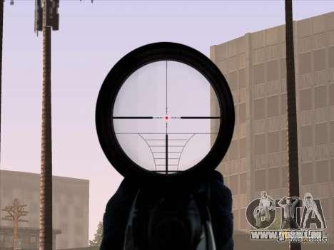 Sniper Scope v2 für GTA San Andreas fünften Screenshot
