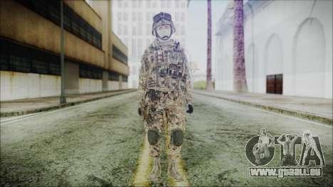 CODE5 Germany pour GTA San Andreas deuxième écran