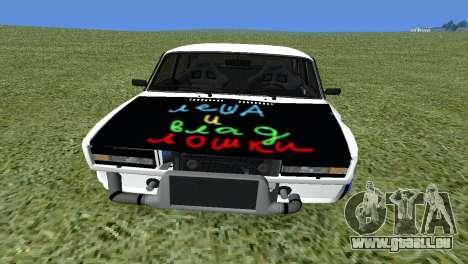 VAZ 2105 Bq Final pour GTA San Andreas vue de droite